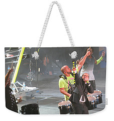 Toby Mac Headline Winterjam Weekender Tote Bag by Aaron Martens