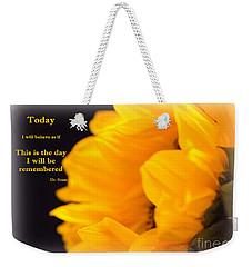 Today Weekender Tote Bag