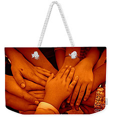 Together Weekender Tote Bag by Clare Bevan