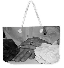 Together Forever Weekender Tote Bag by Davandra Cribbie