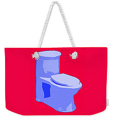Toilette In Blue Weekender Tote Bag