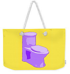 Toilette In Purple Weekender Tote Bag