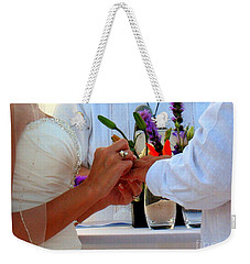Token Of Love In The Islands Weekender Tote Bag by Patti Whitten