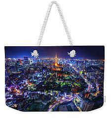 Tokyo Dreamscape Weekender Tote Bag