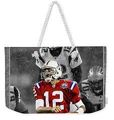 Tom Brady Patriots Weekender Tote Bag
