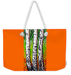 Tom Dick And Harry Weekender Tote Bag by Jackie Carpenter