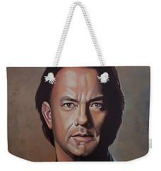 Tom Hanks Weekender Tote Bag by Paul Meijering
