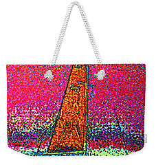 Tom Ray's Sailboat 3 Weekender Tote Bag