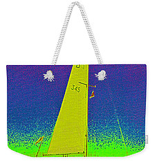 Tom Ray's Sailboat Weekender Tote Bag