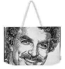 Tom Selleck In 1984 Weekender Tote Bag