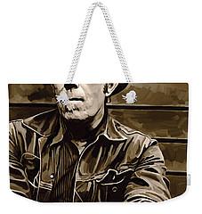 Tom Waits Artwork 2 Weekender Tote Bag