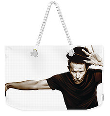 Tom Waits Artwork  4 Weekender Tote Bag