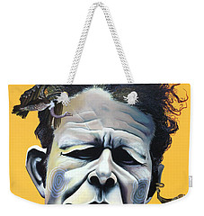 Tom Waits - He's Big In Japan Weekender Tote Bag by Kelly Jade King