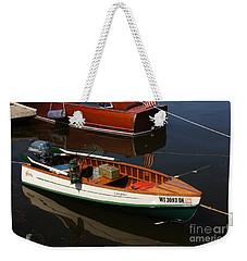 Tomahawk Wood Boat Weekender Tote Bag