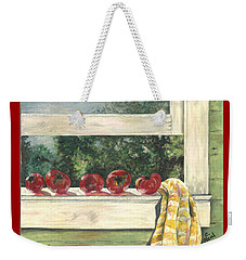 Tomatoes On The Sill Weekender Tote Bag