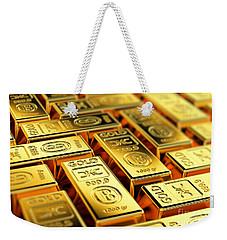 Tons Of Gold Weekender Tote Bag by Carsten Reisinger