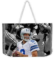Tony Romo Cowboys Weekender Tote Bag