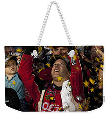 Tony Stewart Champion Weekender Tote Bag