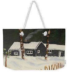 Tonys House In Sweden Weekender Tote Bag