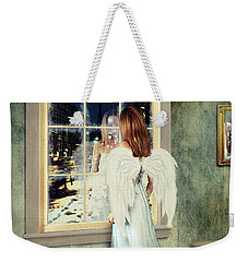Too Cold For Angels Weekender Tote Bag