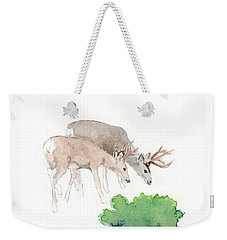Too Dear Weekender Tote Bag by C Sitton