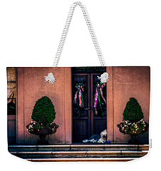 Too Hot To Fetch Weekender Tote Bag by Melinda Ledsome
