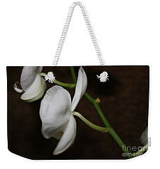 Too Orchid Weekender Tote Bag by Cathy Dee Janes