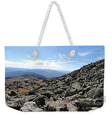Top View Mt Washington Weekender Tote Bag