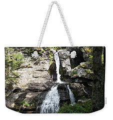 Top Of Kent Falls Weekender Tote Bag
