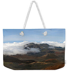 Top Of The World Weekender Tote Bag by Bob Slitzan