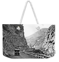Topanga Canyon Road In La Weekender Tote Bag