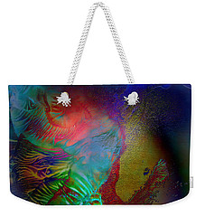 Topology Of Decalcomania Weekender Tote Bag by Otto Rapp