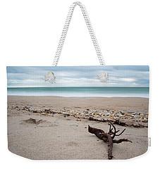 Topsail Island Driftwood Weekender Tote Bag by Shane Holsclaw