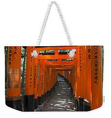 Torii Gates Of Inari Shrine Weekender Tote Bag