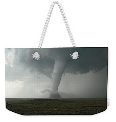 Tornado In The High Plains Weekender Tote Bag by Ed Sweeney