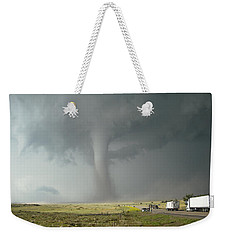 Tornado Truck Stop Weekender Tote Bag by Ed Sweeney