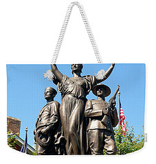 Toronto Monument Weekender Tote Bag