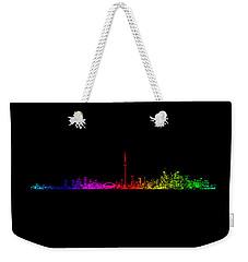 Toronto Rainbow Weekender Tote Bag