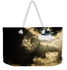 Total Solar Eclipse Breakthrough Weekender Tote Bag