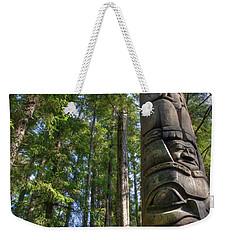 Totem Pole Weekender Tote Bag