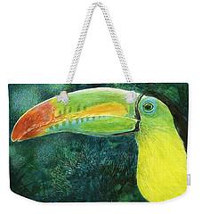Toucan Weekender Tote Bag by Sandra LaFaut