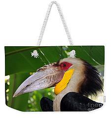 Toucan Weekender Tote Bag by Sergey Lukashin