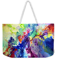 Touch Me Here Weekender Tote Bag