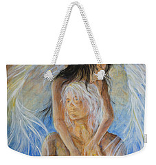 Touch Of An Angel Weekender Tote Bag