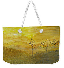 Touch Of Gold Weekender Tote Bag by Sonali Gangane