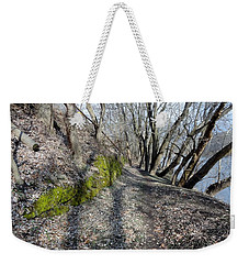 Touch Of Green Weekender Tote Bag by Michael Porchik