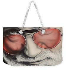 Touch Of Grey Weekender Tote Bag by Darren Robinson