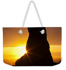Touch Of Hope Weekender Tote Bag by Mark Kiver