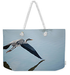 Touch The Water With A Wing Weekender Tote Bag by Randy J Heath