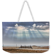 Touched By Heaven Weekender Tote Bag by Sennie Pierson